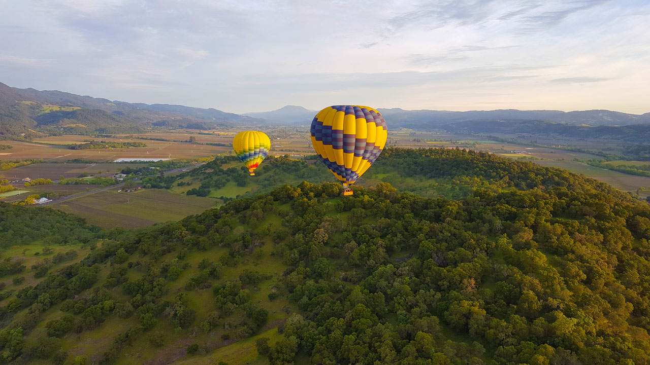 Napa Valley Balloon Photo Gallery