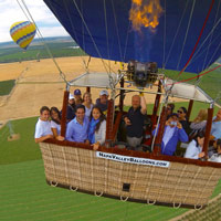 Group Balloon Charters in Napa