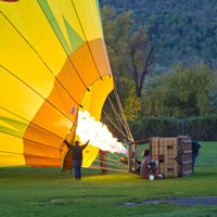 Private Napa Valley Balloon Flights