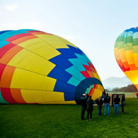 Napa Valley Balloon Ride and Luxury SUV Wine Tour