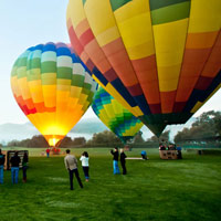 Napa Valley Balloon and Bike Wine Tour Package