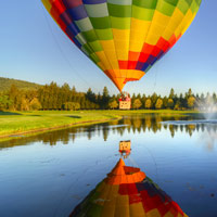 Balloon Flight and Luxury Sedan Tour in Napa Valley