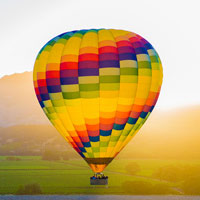 Napa Valley Balloon Flight and Candlelight Inn Package