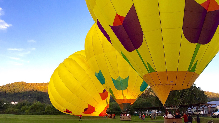 Classic Napa Valley Balloon Flights