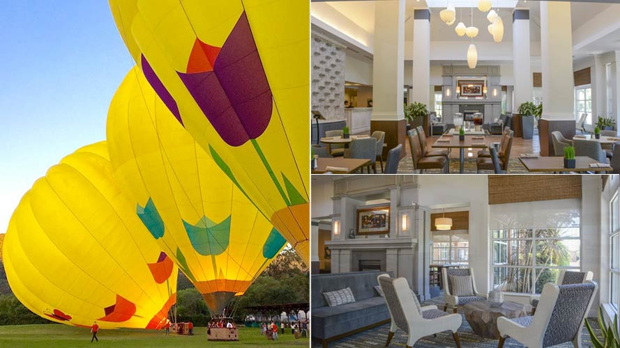 Classic Napa Valley Balloon Flight and Hotel Package
